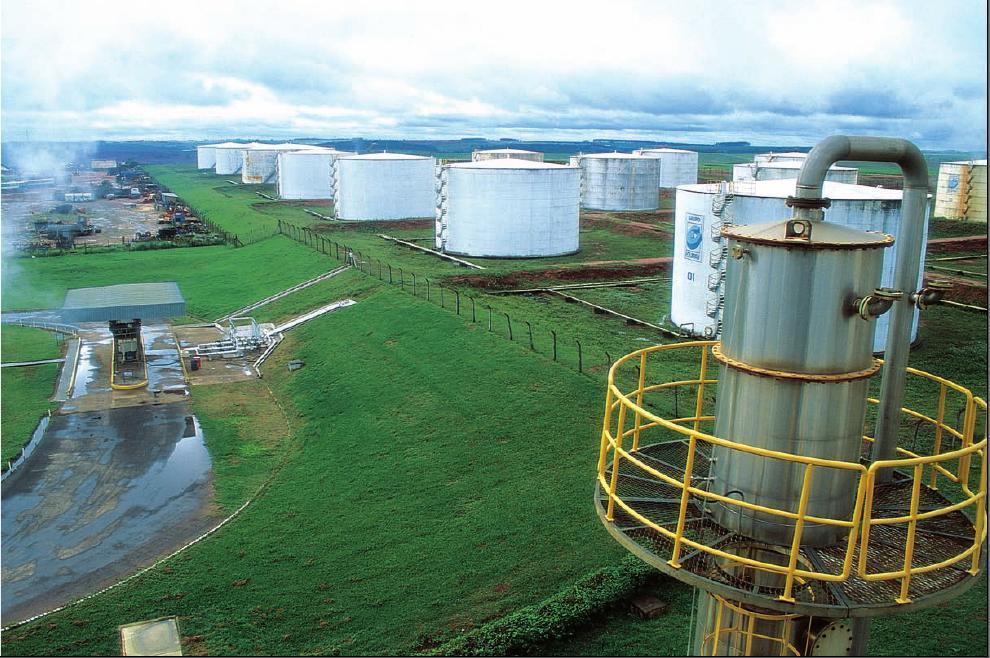 Resultado de imagem para usina etanol